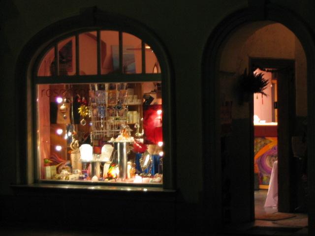 Strassenansicht, Nacht 02